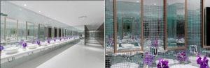 restaurant bathroom design - Radisson