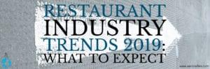 restaurant trends 2019