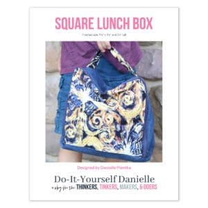 Zippered Square Lunch Box Pattern
