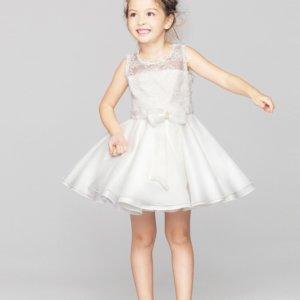 Cheap White lace ballerina girls dress