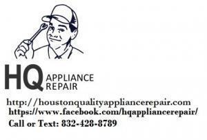 Appliance repair service Houston