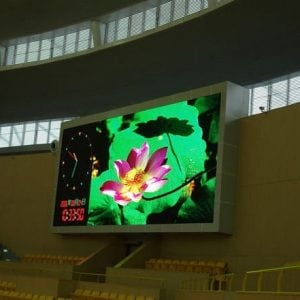 full colour indoor p10 display
