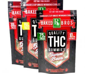 Baked Bros, edibles, products, marijuana