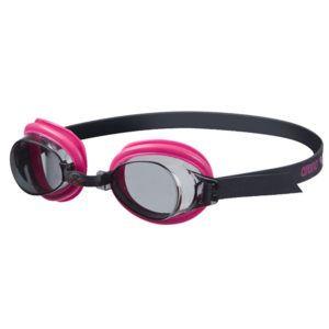 Dječje naočale za plivanje Arena Bubble 3 Jr (dim siva / roza / crna)