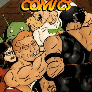 Naked Man Comics #6 Cover