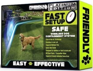 Friendly Pet Wireless Dog Fence Review