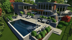Contemporary Pool Model