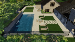 Traditional Pool Model with Autocover