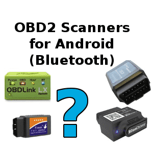 android obd2 scanner bluetooth