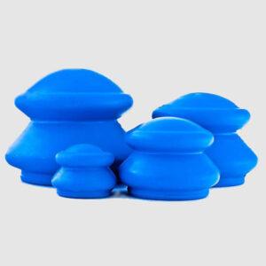 Bańki gumowe chińskie - 4 sztuki