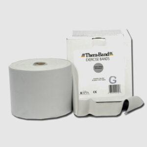 Guma elastyczna Thera Band ćwiczeń srebrna Thera-Band, 1 m