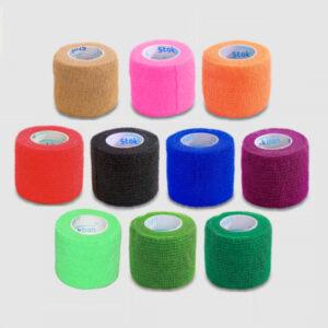 rozne kolory stokban kohezyjny bandaz samoprzylepny elastyczny 5 cm 4,5 m