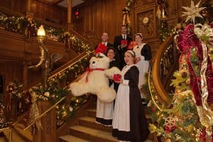 Glamorous Grand Staircase at Titanic Museum Attraction!