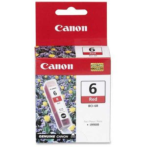 Canon BCI-6R Red Ink Cartridge - Original