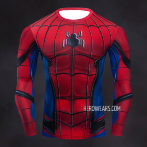 Spider Man Homecoming Comic Compression Shirt