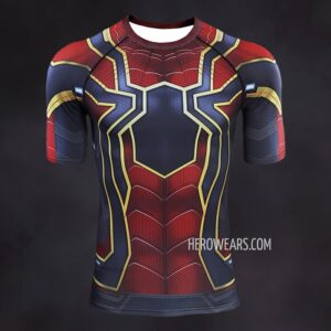 Iron Spider Man Endgame Compression Shirt