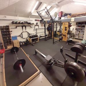functional fitness garage gym
