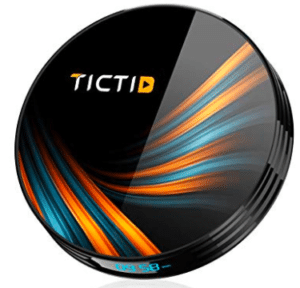 round shaped android set top box