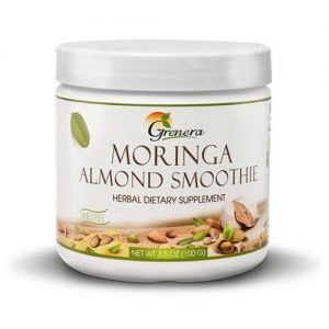 Grenera, Moringa Almond Smoothie Powder, 100 g