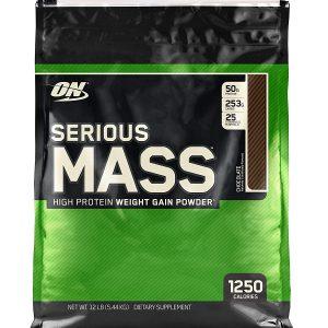 Optimum Nutrition, Serious Mass, 12Lb (5.44 Kg)