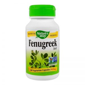 Nature's Way, Fenugreek Seed 610 mg, 100 Caps