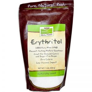 Now Foods, Erythritol Natural Sweetener, 1 lb (454 g)