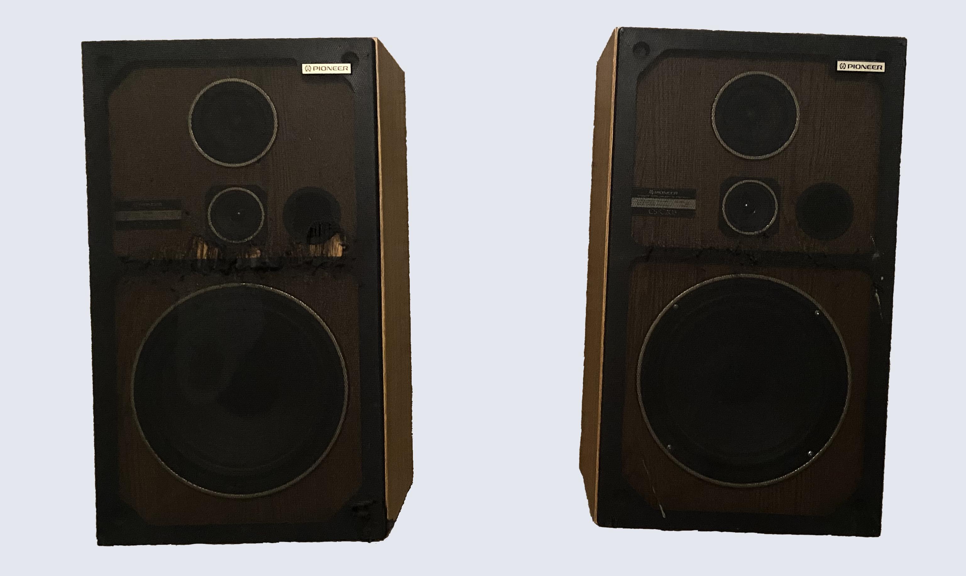 The Pioneer GS C203 Vintage Speakers