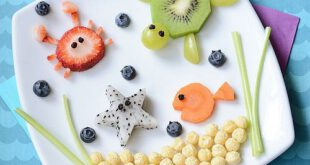 آموزش سفره آرایی با میوه ها