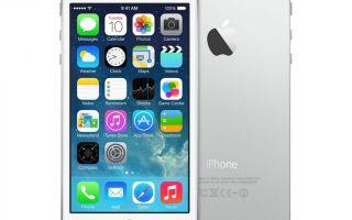 iPhone 5s silver: описание новой модели и её особенностей