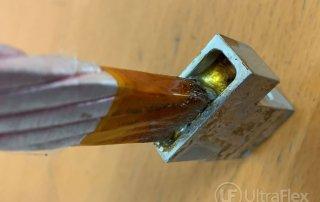 Soldering Litz Wire Into Aluminum Lug