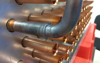 Induction Brazing copper tubes for heat exchangers