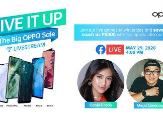 Second ShOPPO Livestream happens on tomorrow