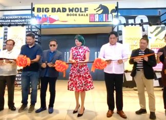 Big Bad Wold Book Sale opens