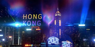Hong Kong New Year countdown goes online