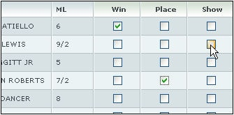 How to Place a Win Place Show Bet