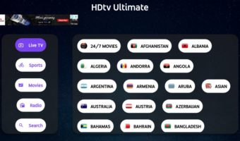 how to use hdtv apk on Firestick