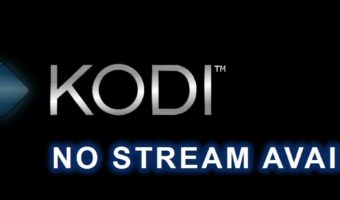 Kodi No Stream Available: How to Fix