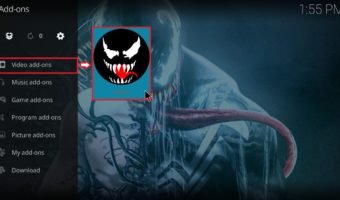 How to install Venom Addon on Kodi 18