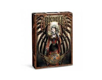 Caja de 12 Barajas Bicycle Anne Stokes Steampunk