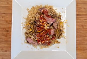 Grass-Fed Tri-Tip Fiesta Bowl