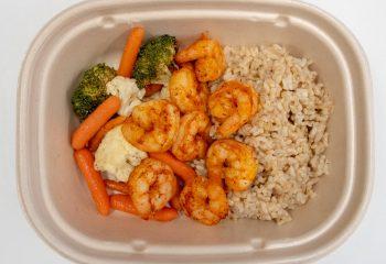 Cajun Shrimp Plate