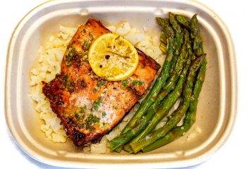Roasted Salmon with Herbs KETO