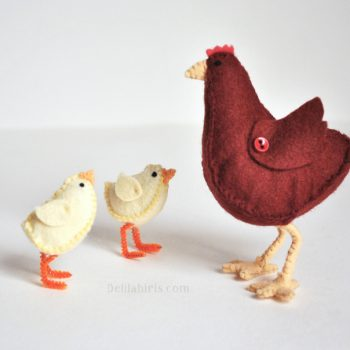 chicken sewing pattern