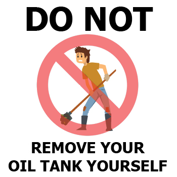 Can I Remove An Oil Tank Myself?