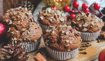 Protein Gingerbread Muffins