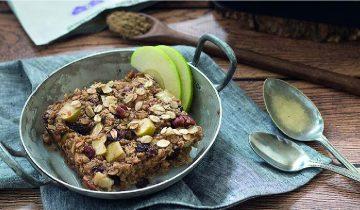 Apple & Cinnamon Baked Proats
