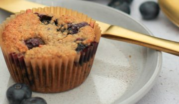 Blueberry and Cinnamon Breakfast Muffins