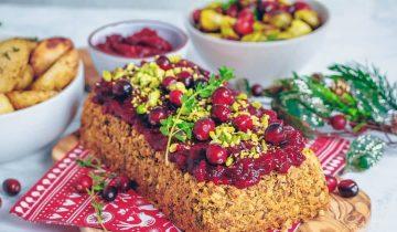 Lentil Pistachio & Cranberry Loaf