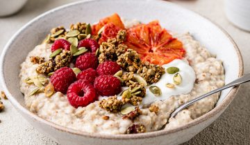 Blood Orange Oats
