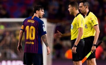 WATCH VIDEO: Is Lionel Messi the Most Protected Player in the World? 10 Times Barca Star Escaped Clear Red Card